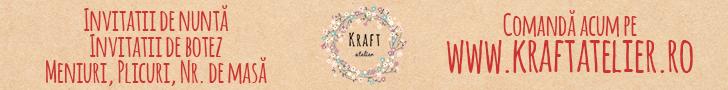 Kraft Atelier - invitatii de nunta