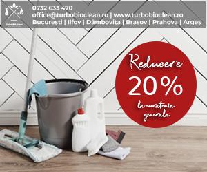 20% reducere la curățenia generală